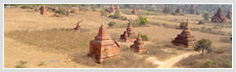 Old temples in Bagan city