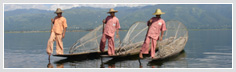 Leg rowers from Inle Lake